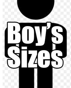 Boy's Sizes