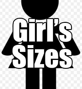 Girl's Sizes
