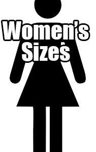 Women's Sizes